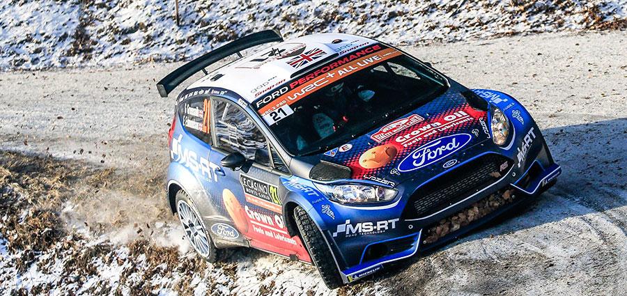 Al settimo posto troviamo la prima Ford Fiesta, la R5 di Gus Greensmith che si aggiudica la cattedra della WRC 2 Pro