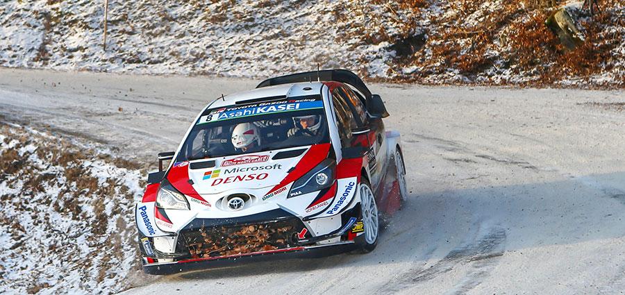 Meritatissimo bronzo per Ott Tanak e Martin Jarveoja con la Toyota Yaris WRC ufficiale