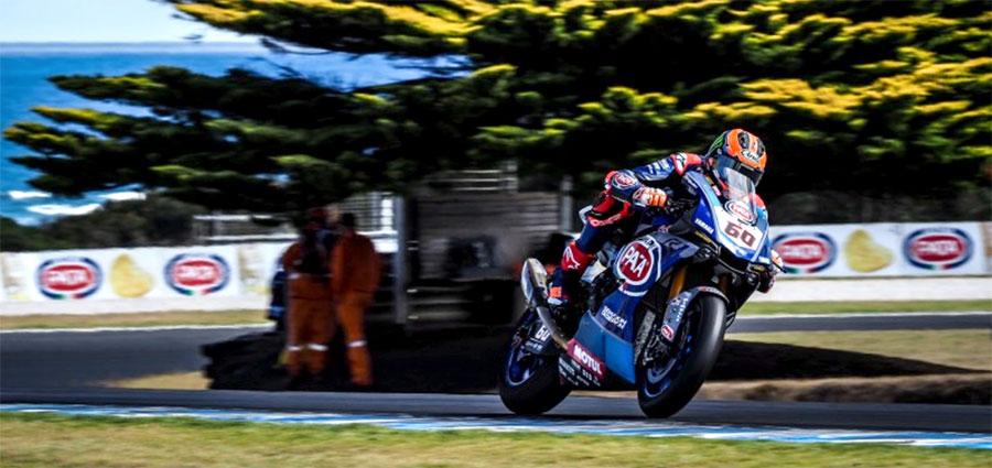 Stessa moto e stessa determinazione per Michael Van der Mark che valgono un quinto posto in classifica