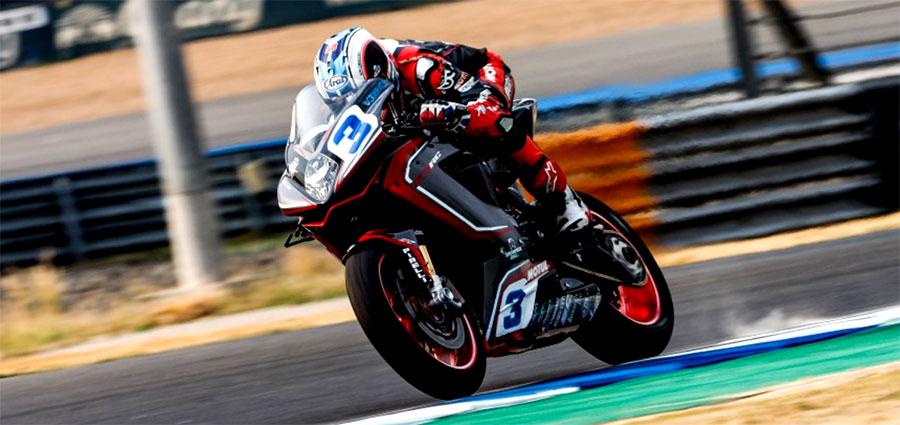 Bel quinto posto di Raffaele De Rosa con la MV Agusta