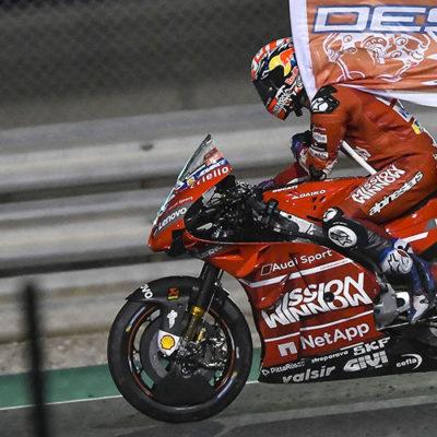 MotoGP, a Dovizioso la prima in Qatar. Forse.