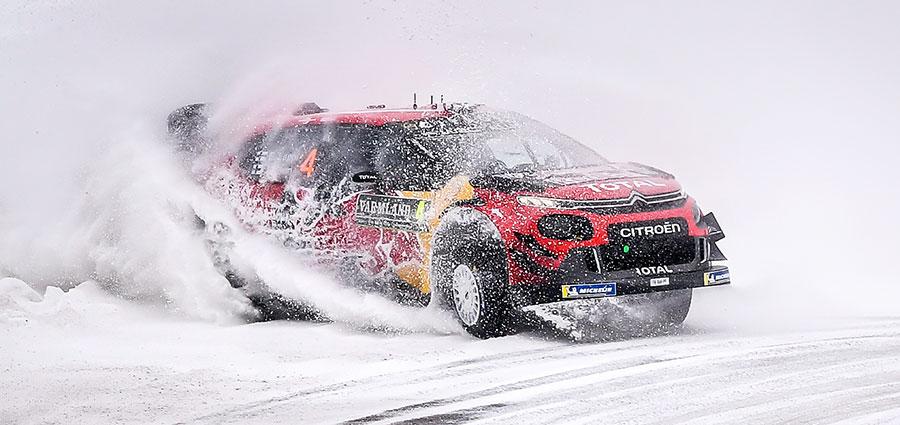Secondo posto per Esa-Pekka Lappi e Janne Ferm con la Citroen C3