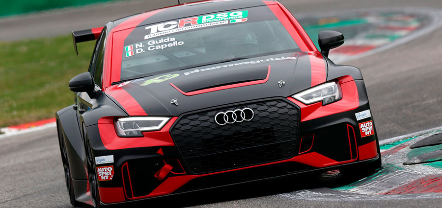 All'Audi RS3 LMS di Dindo Capello e Nicola Guida la piazza d'onore