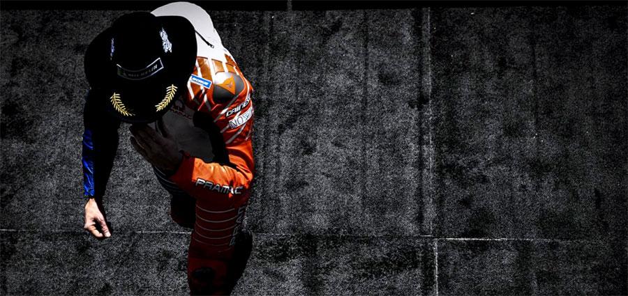 Jack Miller con la Ducati della Pramac Racing completa il podio