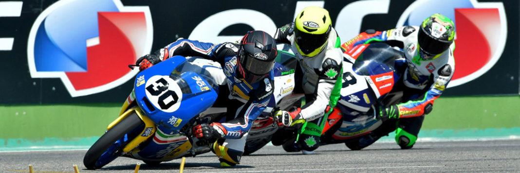 In Moto3 Edoardo Sintoni sulla Mahindra ha regalato la prima vittoria al Team 3570 MTA