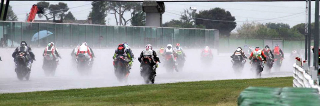 Gata bagnata per il Bridgestone Champions Challenge, a Misano