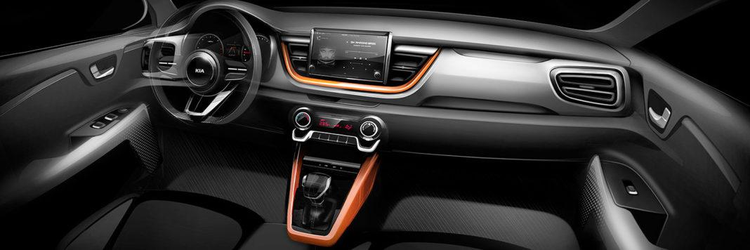 Gli interni della nuova Kia Stonic sono stati concepiti come un mix ideale tra comfort ed ergonomia