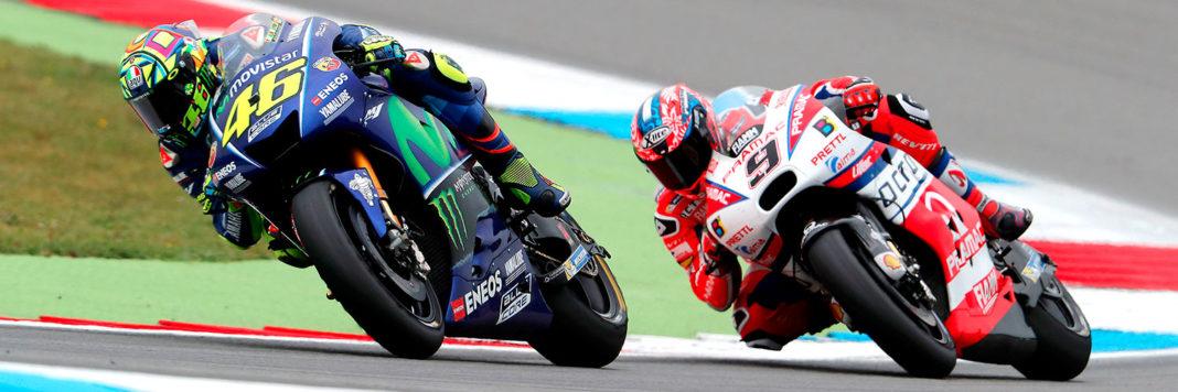 Uno-Due tutto tricolore nella Moto GP: Valentino Rossi si aggiudica la vittoria n. 115 della sua carriera davanti a Danilo Petrucci