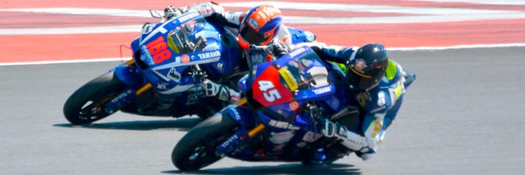 Un passaggio della Dunlop Cup nel programma della Coppa Italia Velocità a Misano