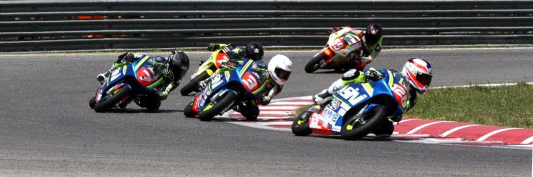 Gara 2 del CIV Junior con in scena i piloti del Campionato Italiano MiniGP 50cc