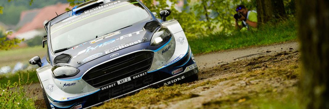 Ott Tanak e Martin Jarveoja con la Ford Fiesta WRC si aggiudicano il Rally di Germania