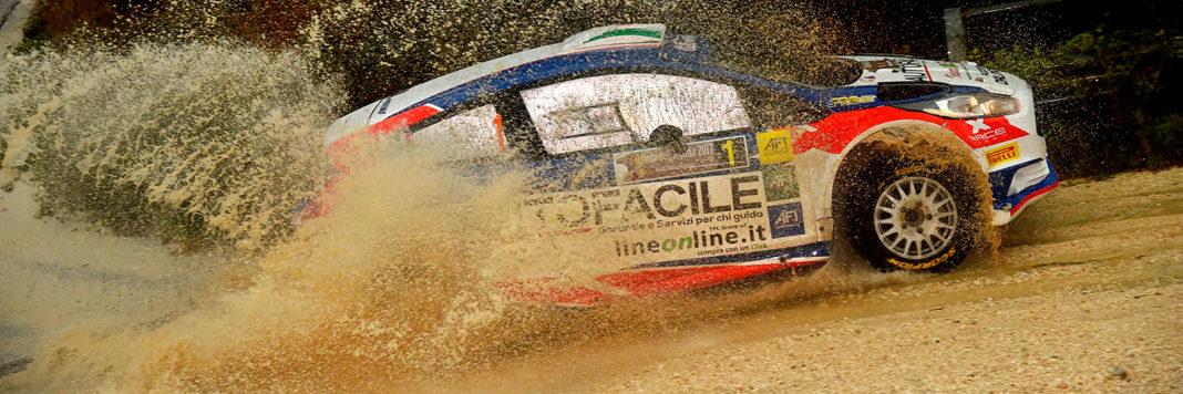 Andrea Dalmazzini e Giacomo Ciucci con la Ford Fiesta si aggiudicano il Nido dell'Aquila
