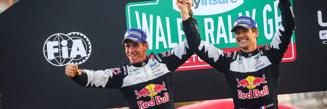 Sebastien Ogier e Julien Ingrassia conquistano il quinto alloro consecutivo nel WRC