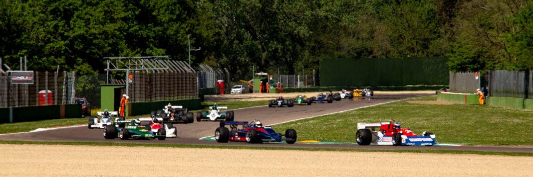 Il gruppo delle F1 Storiche (ActualFoto)