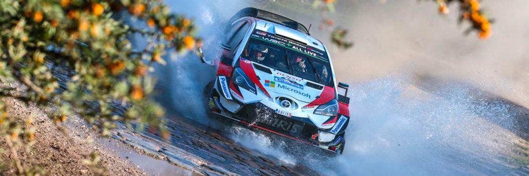 Ott Tanak e Martin Jarveoja al Rally di Argentina portano sul primo gradino la Toyota Yaris WRC