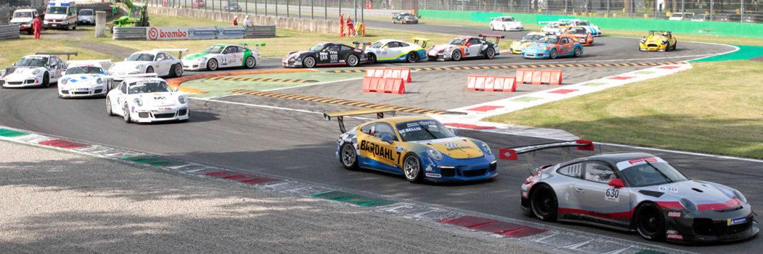 Lo start della Novecentoundici Race Cup sul circuito brianzolo (ActualFoto)