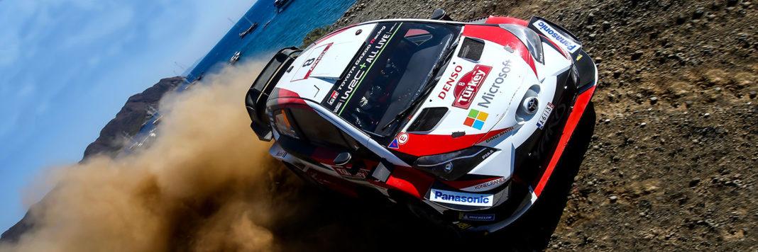 Doppietta Toyota al Rally di Turchia con Ott Tanak e Martin Jarveoja sul primo gradino del podio