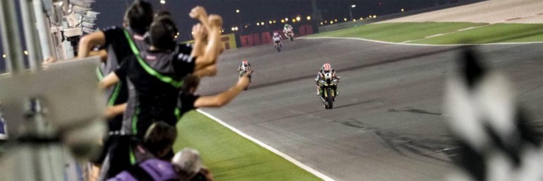 Jonathan Rea chiude in bellezza l'ultima tappa del WSBK in Qatar