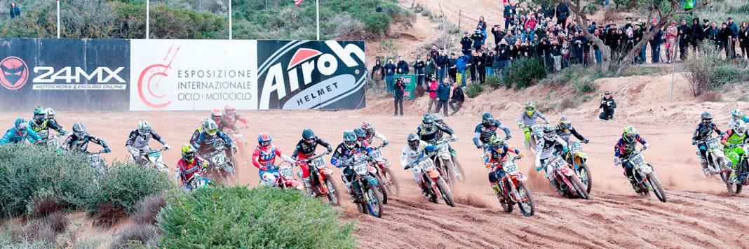 Uno start degli Internazionali d'Italia MX a Riola Sardo