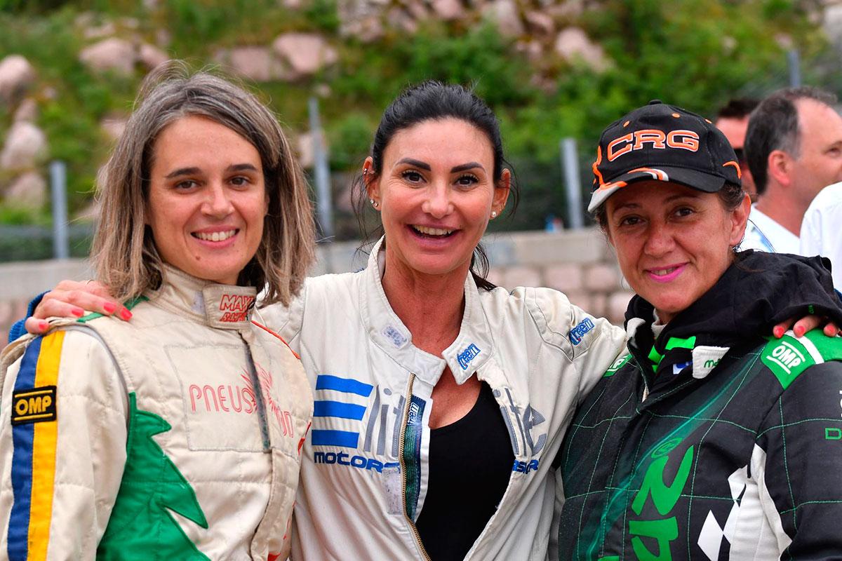 Dame dal piede pesante alla Trento-Bondone: da sinistra Gabriella Pedroni, Veronica Pangrazzi e Deborah Broccolini.
