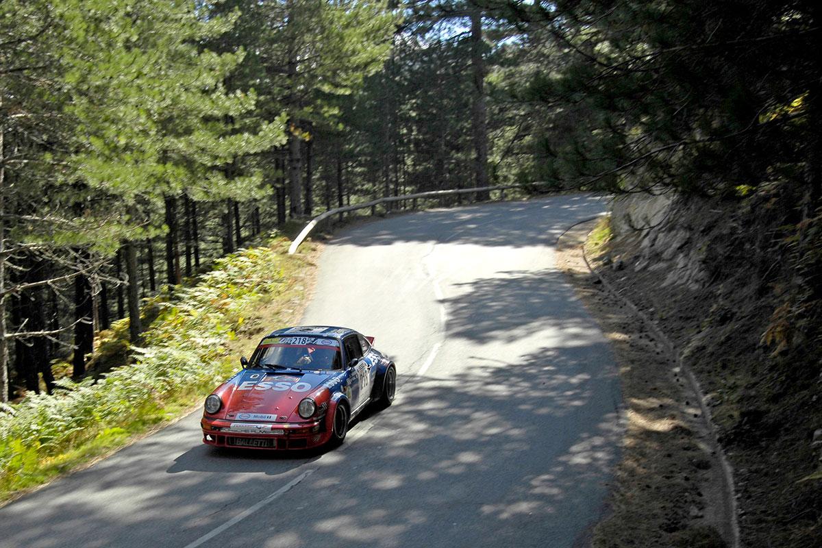 Terzo gradino del podio in Classifica TdCH 2019 VHRS per Schon e Giammarino sulla Porsche 911
