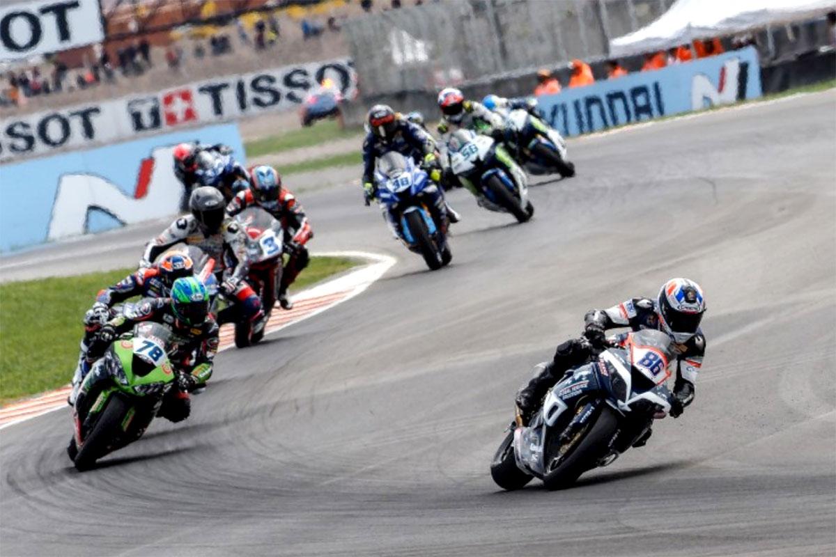 Ayrton Badovini non replica l'ottima gara di Magny Cours e chiude al decimo posto