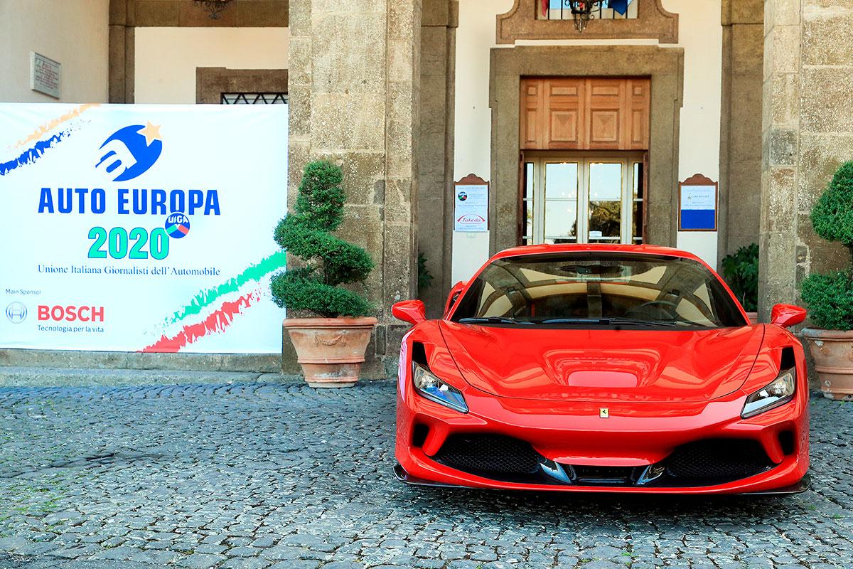 Ferrari F8 Tributo conquista il Premio Auto Europa Sportiva 2020