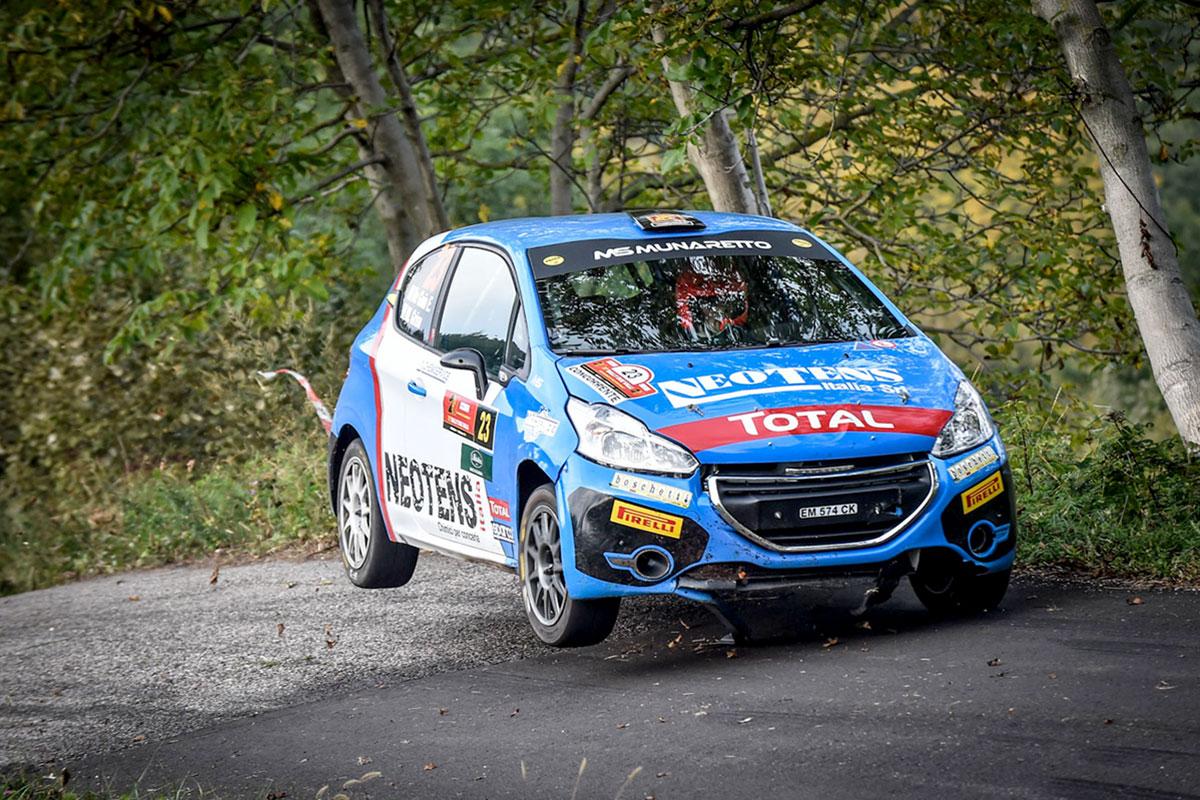 Michele Griso è il primo nel Trofeo Peugeot Competition 208 Top (Foto Marco Passaniti)