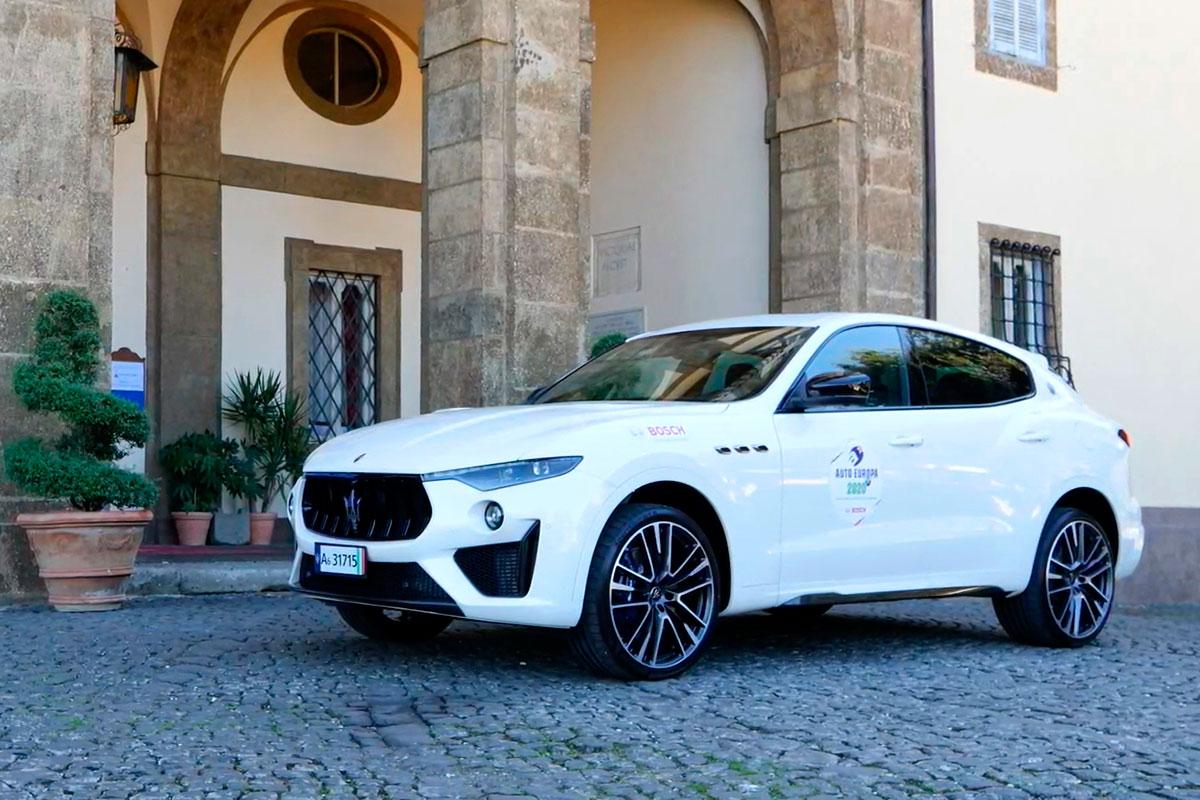 Maserati Levante in versione Trofeo è la vettura che più si è distinta nella categoria SUV e Crossover