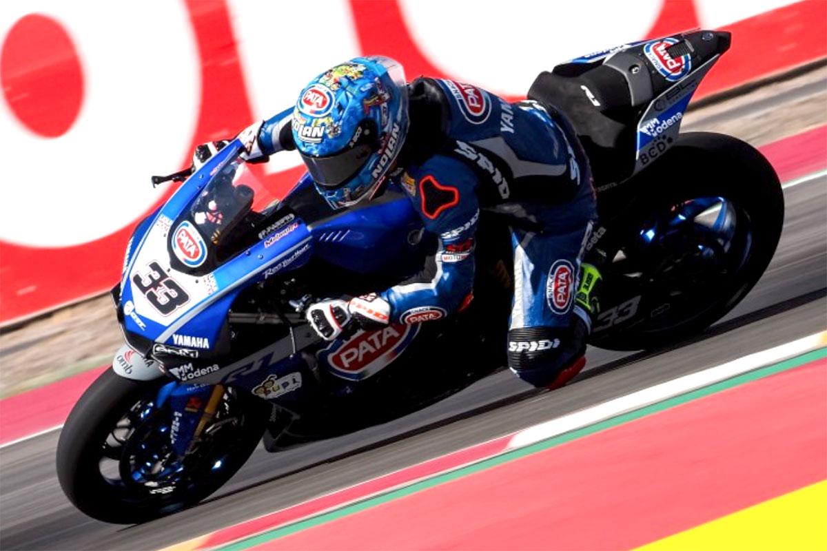 Marco Melandri salta per protesta gara 1 e nella frazione successiva è quattordicesimo assoluto