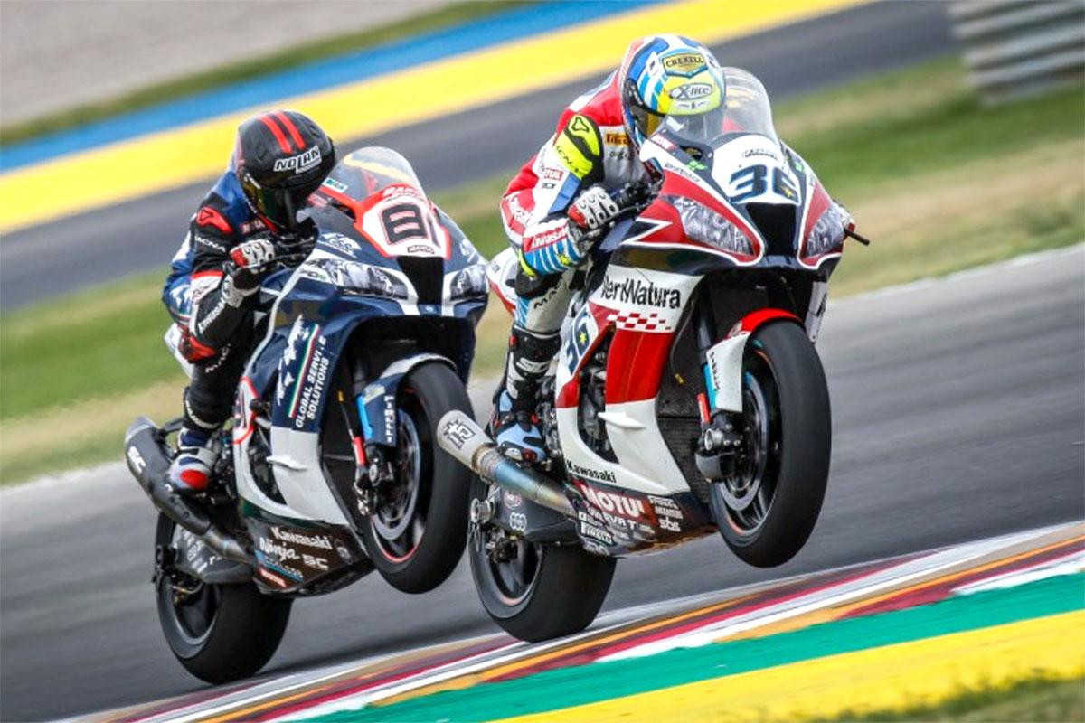 Ottavo e nono posto in gara 2 per le Kawasaki ZX-10 RR di Leandro Mercado e Jordi Torres