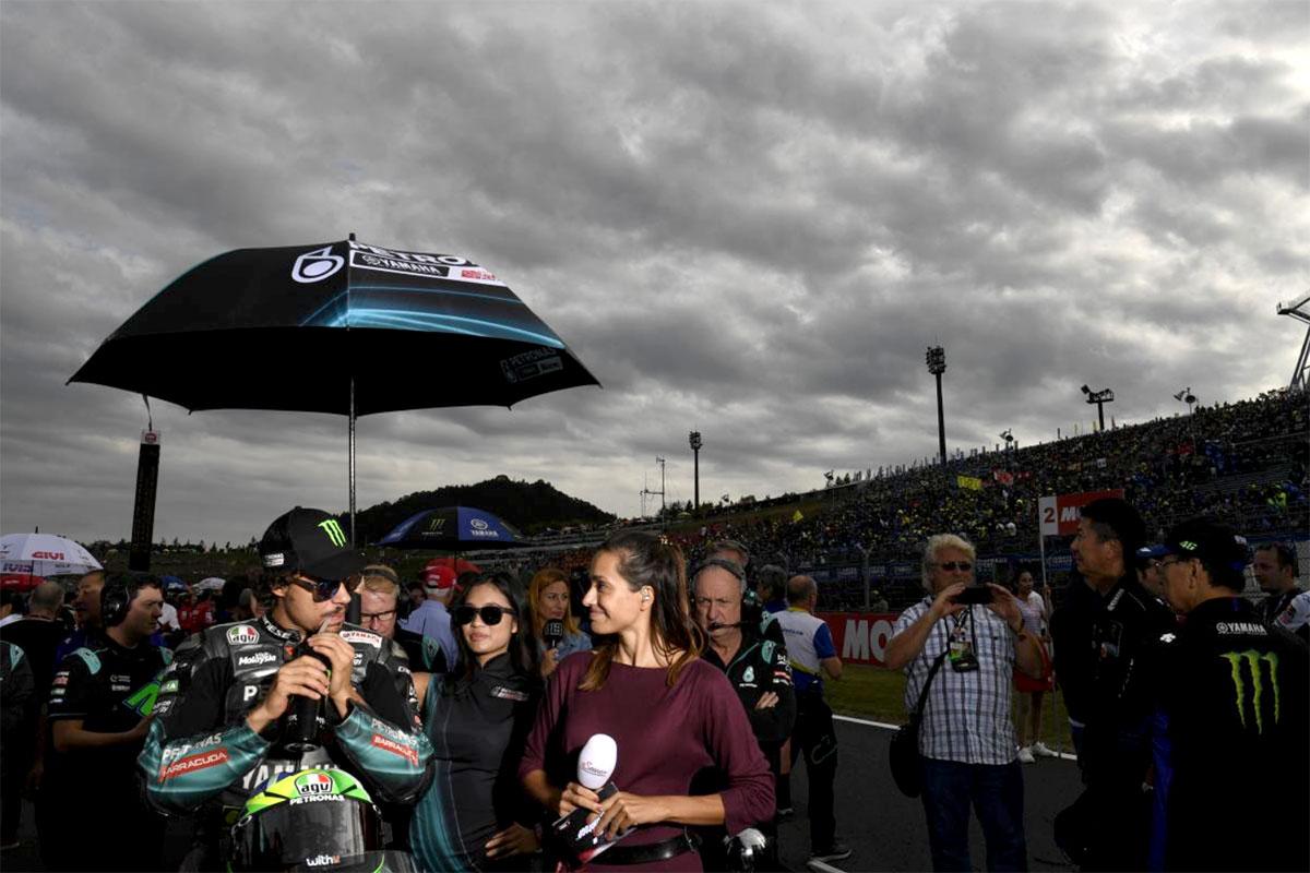 Molto bene anche Franco Morbidelli con l'altra Yamaha Petronas SRT sesto in classifica finale