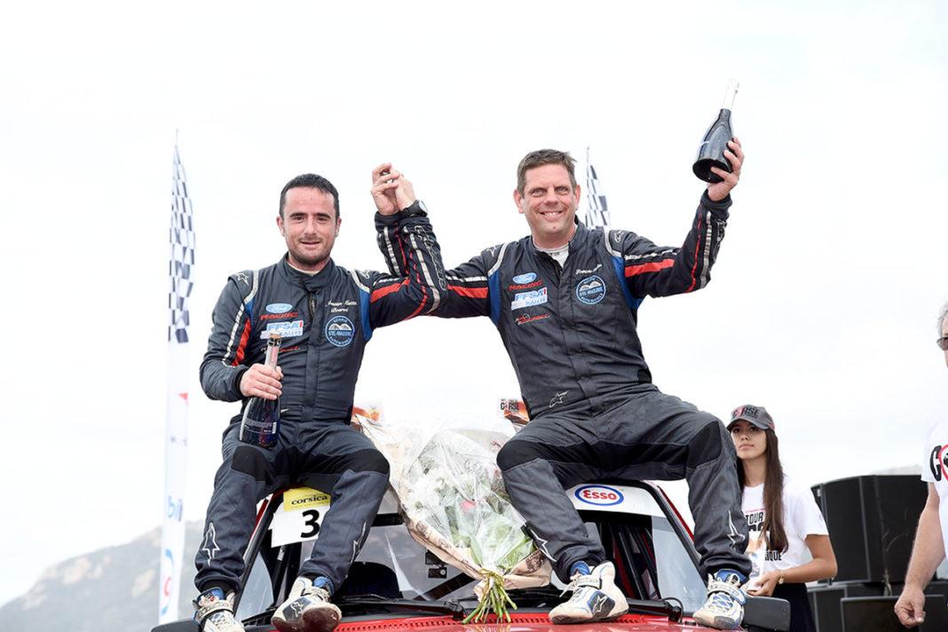 François Foulon e Sébastien Mattei conquistano la vittoria del Tour de Corse Historique con 1 solo secondo di vantaggio su Christophe Casanova
