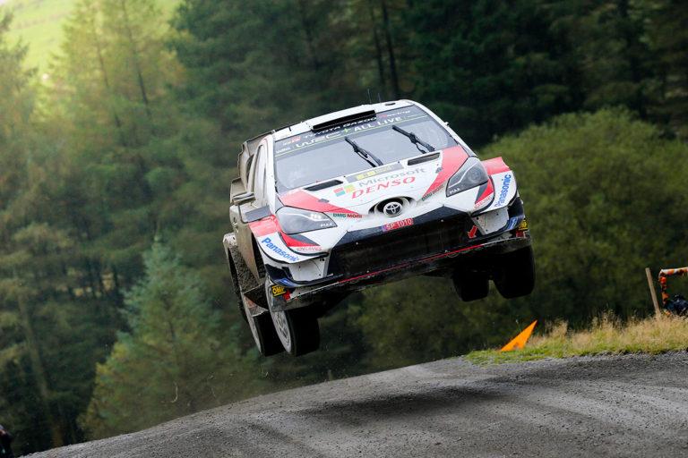 Ott Tanak e Martin Jarveoja con la Toyota Yaris WRC si aggiudicano il Wales Rally terz'ultima prova del WRC