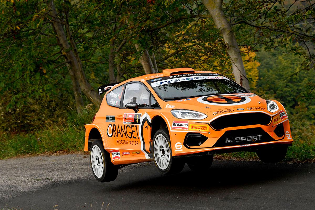 Un secondo posto preziosissimo in ottica di Campionato per Simone Campedelli e Tania Canton con la Ford Fiesta R5