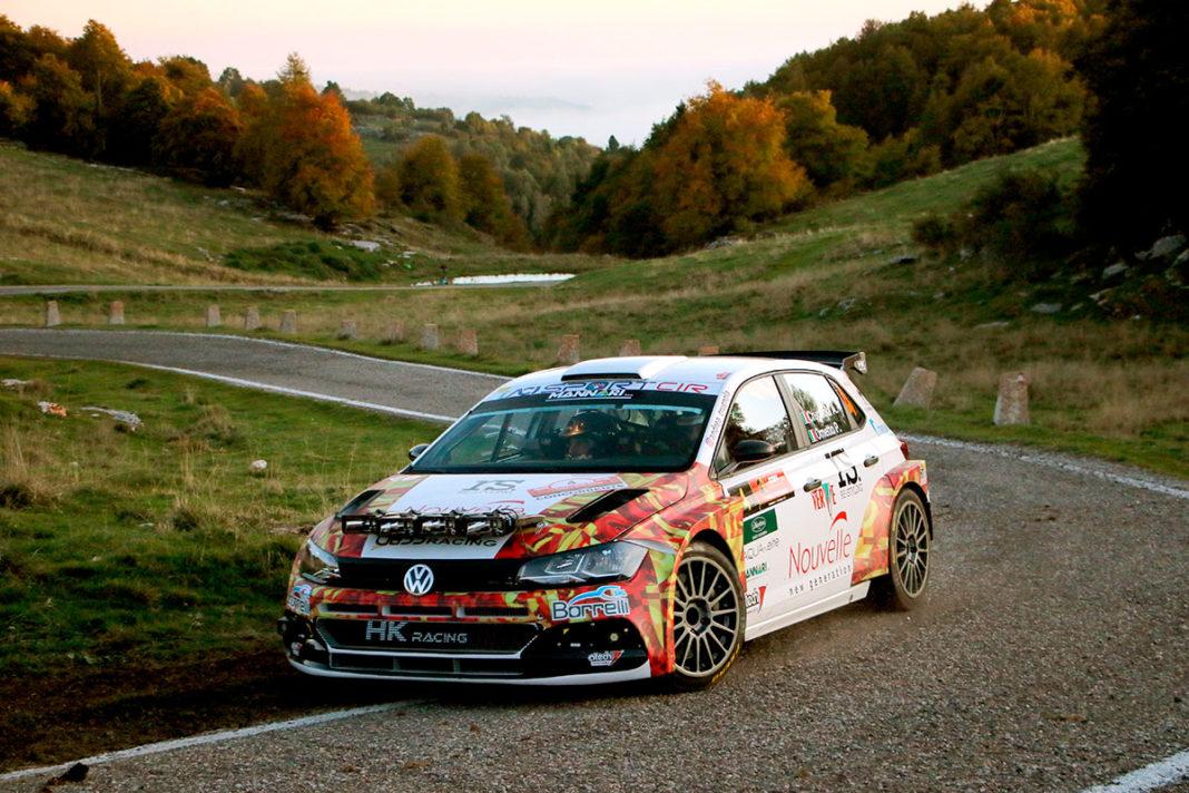 Andrea Crugnola e Pietro Ometto con la Volkswagen Golf GTI R5 conquistano la vetta del Rally 2 Valli penultima tappa del CIR