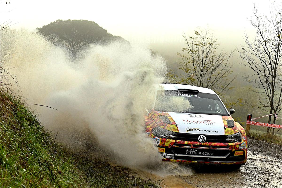 Secondo posto in gara e campionato per Andrea Crugnola e Pietro Elia Ometto con la Volkswagen Polo R5