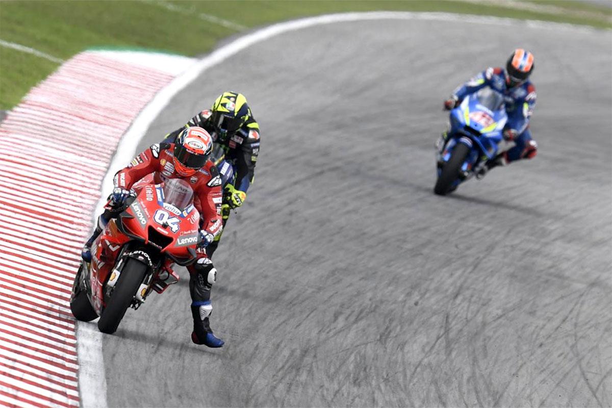 Andrea Dovizioso artiglia il terzo posto in Malesia