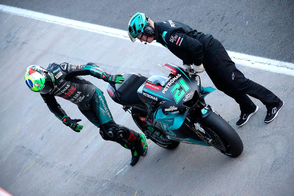 Il ottica Campionato la classifica Top Ten viene chiusa da Franco Morbidelli (Foto Cavalleri-Betti)