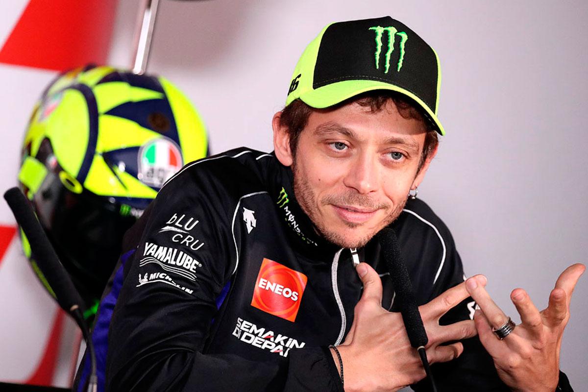 """Soddisfazione pari allo zero per la stagione MotoGP appena conclusa da parte di Valentino Rossi che la definisce """"molto deludente"""" (Foto Cavalleri-Betti)"""