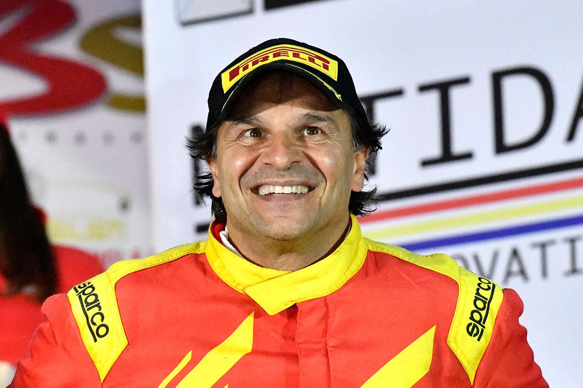 In casa e su sterrato non può mancare la zampata di Paolo Andreucci, terzo assoluto e primo nel TRT con la Peugeot 208 T16 R5