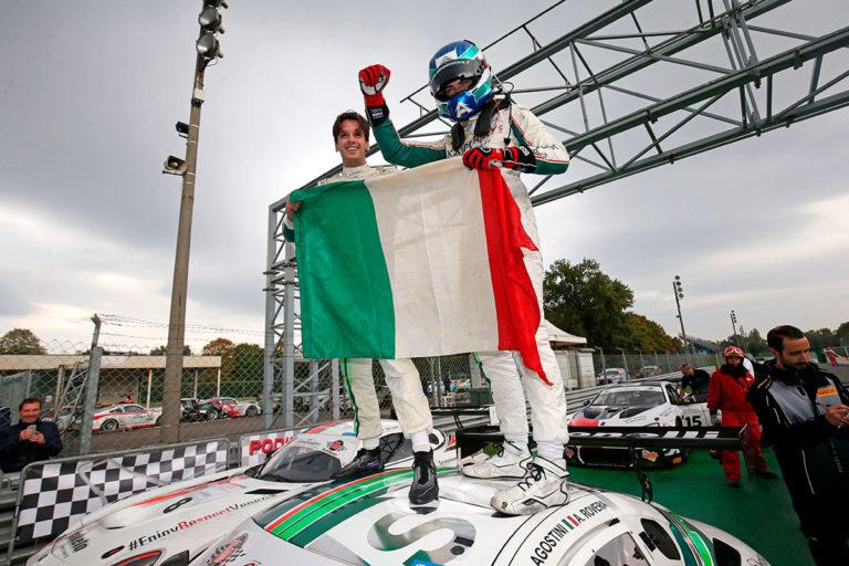 Alessio Rovera e Riccardo Agostini con la Mercedes AMG di Antonelli sono i Campioni Italiani GT Sprint 2019