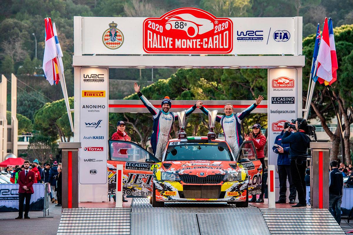 Non poteva essere un compleanno più bello per Mauro Miele che per i suoi 64 anni si regala un posto d'onore nella top 20 del Rally di Monte-Carlo
