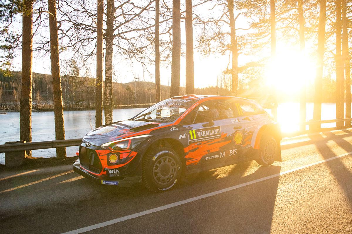 Non riescono a ripetere la performance del Rally di Monte-Carlo Thierry Neuville e Nicolas Gilsoul con la Hyundai i20 Coupé WRC, sesti al traguardo