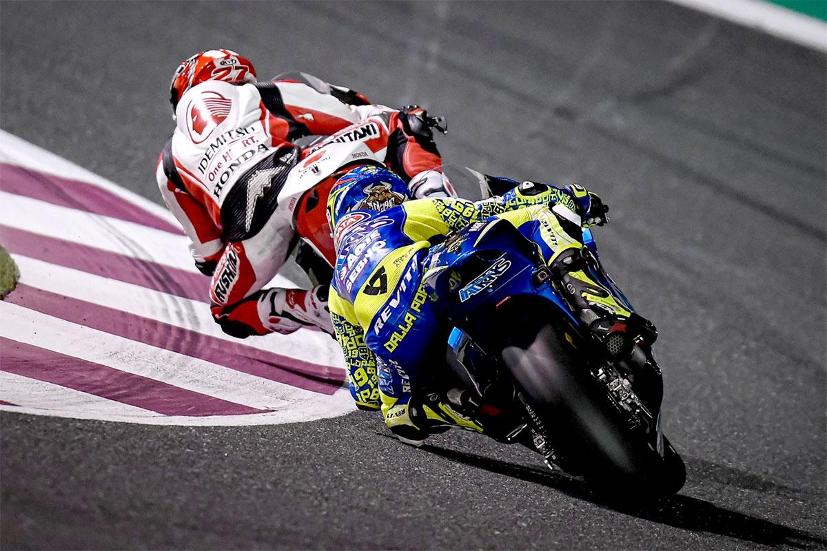 Il campione uscente della Moto3 Lorenzo Dalla Porta stenta a prendere le misure della nuova categoria e chiude la trasferta qatariota quasi in fondo alla classifica