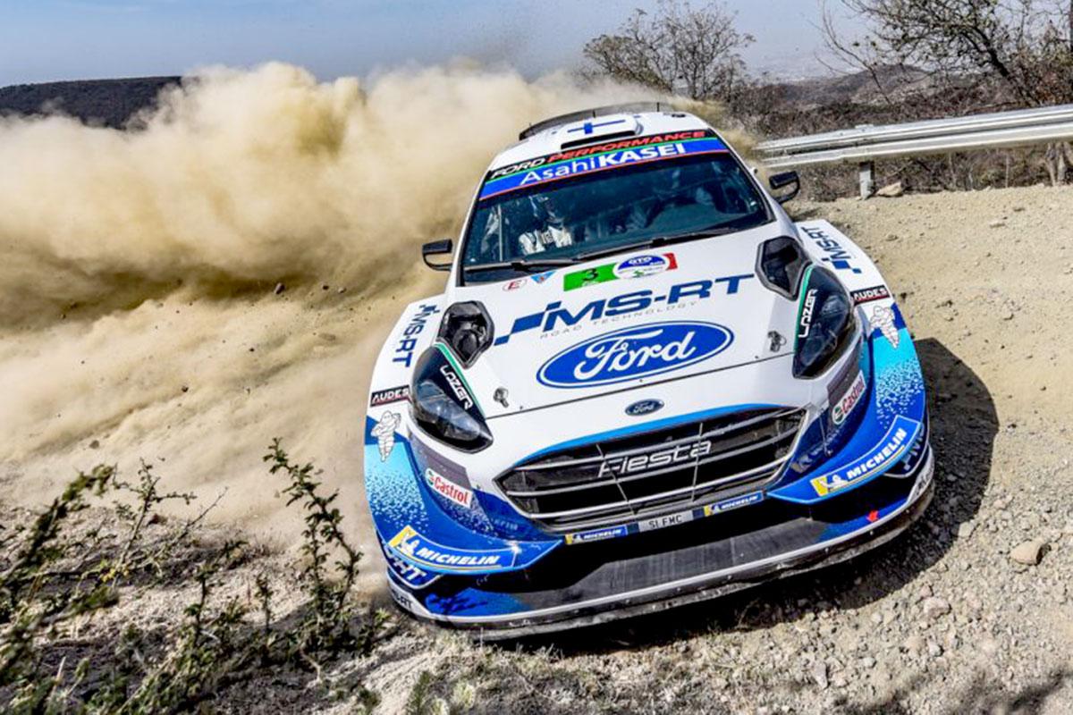 Medaglia di bronzo per Teemu Suninen e Janne Lehtinen con la Ford Fiesta WRC