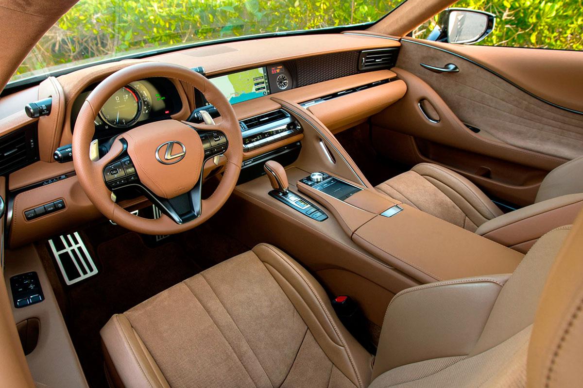 Lexus-LC-Interni