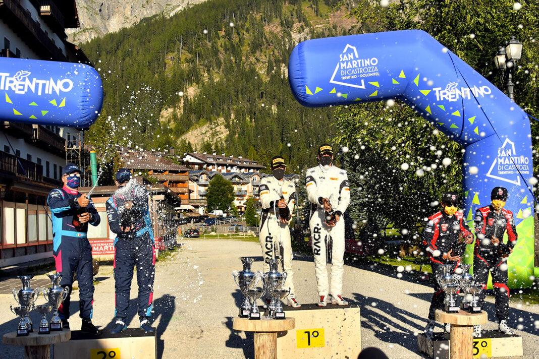 Campionato-Italiano-WRC-2020-Rally-San-Martino-di-Castrozza-Podio