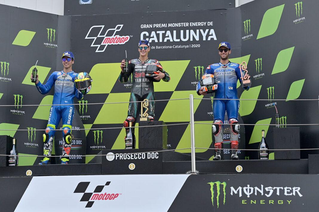 MotoGP-2020-Catalunya-Podio