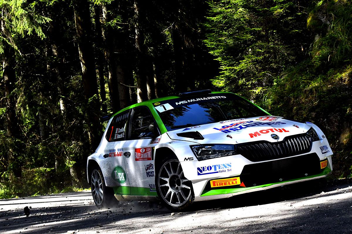 Campionato-Italiano-WRC-2020-Rally-San-Martino-di-Castrozza-carella
